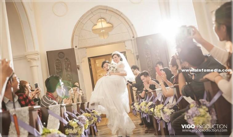 [尖沙咀婚禮錄像攝影] Vigo Production