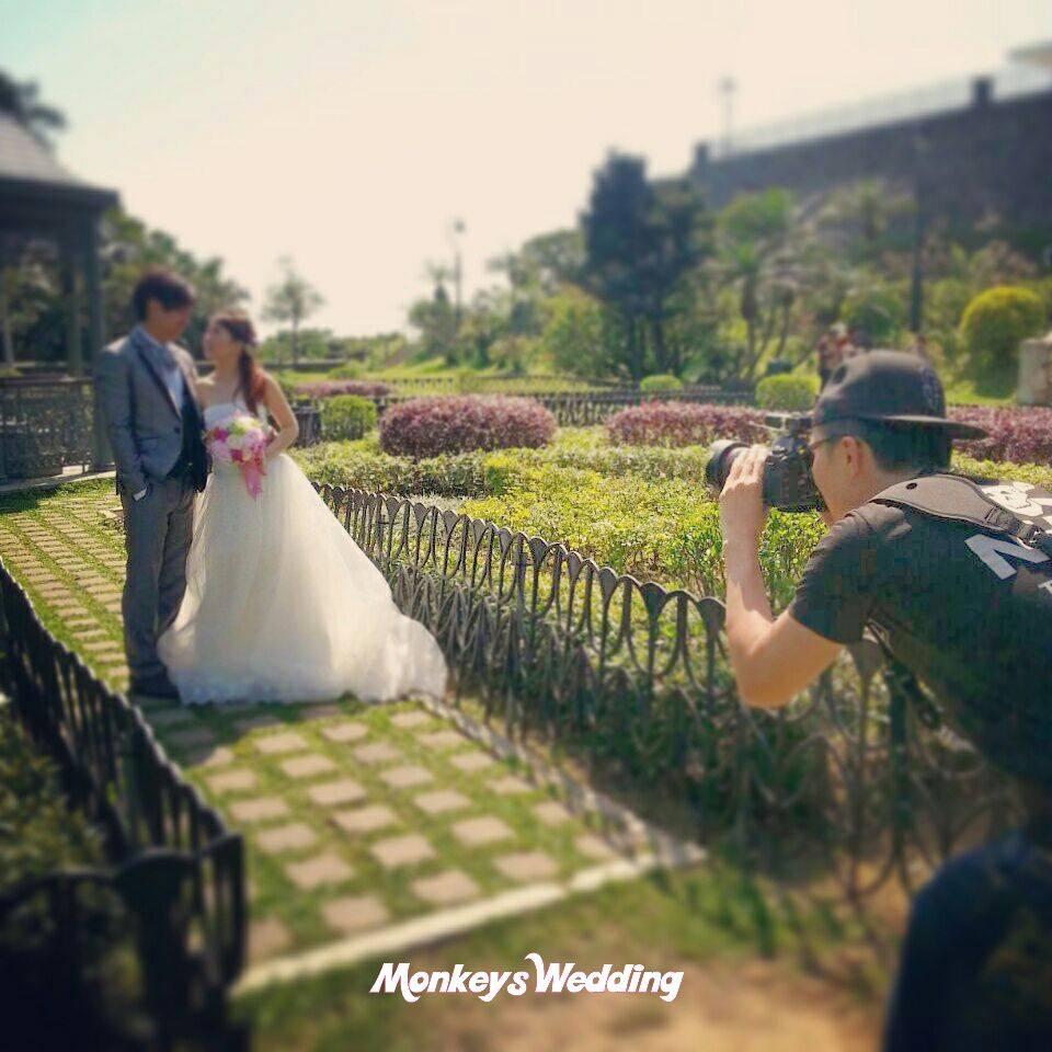 [觀塘婚紗婚禮攝影] Monkeys Wedding production