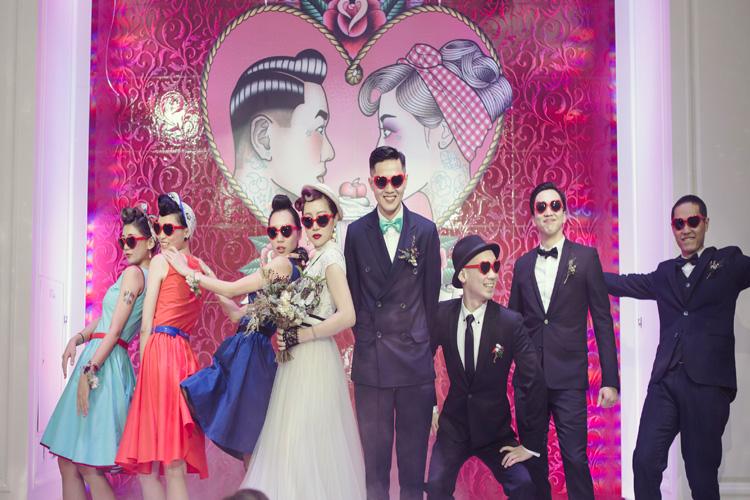 婚禮也能這樣玩!台灣風格女孩們都這樣打造獨特婚禮!