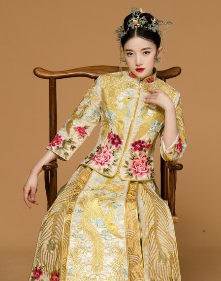 什麼樣的秀禾服上身效果更好看 新娘怎麼挑選中式禮服