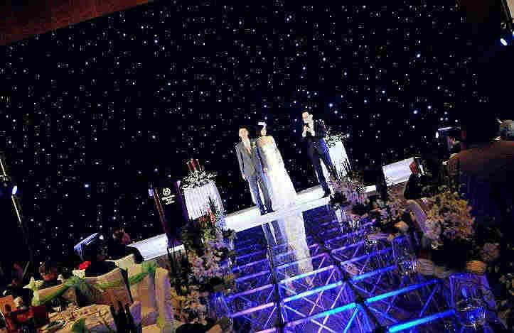 浪漫星空系主題婚禮-婚禮佈置分享